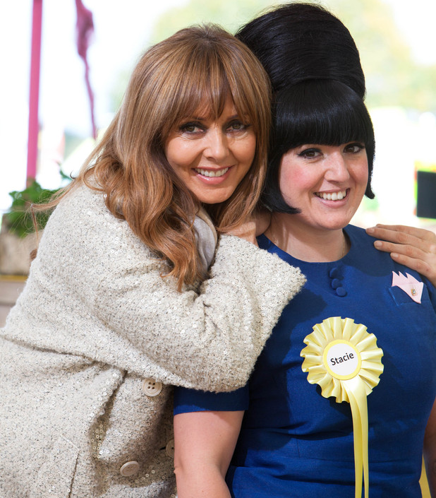 &#39;Food Glorious Food&#39; - Carol Vorderman and judge Stacie Stewart