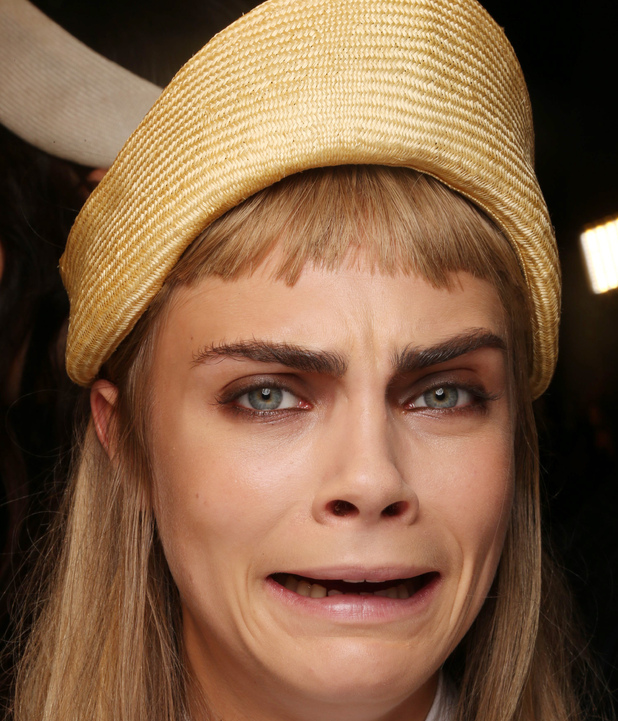 Cara Delevingne, Milan Fashion Week 2012