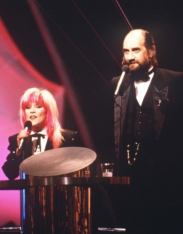 Samantha Fox and Mick Fleetwood