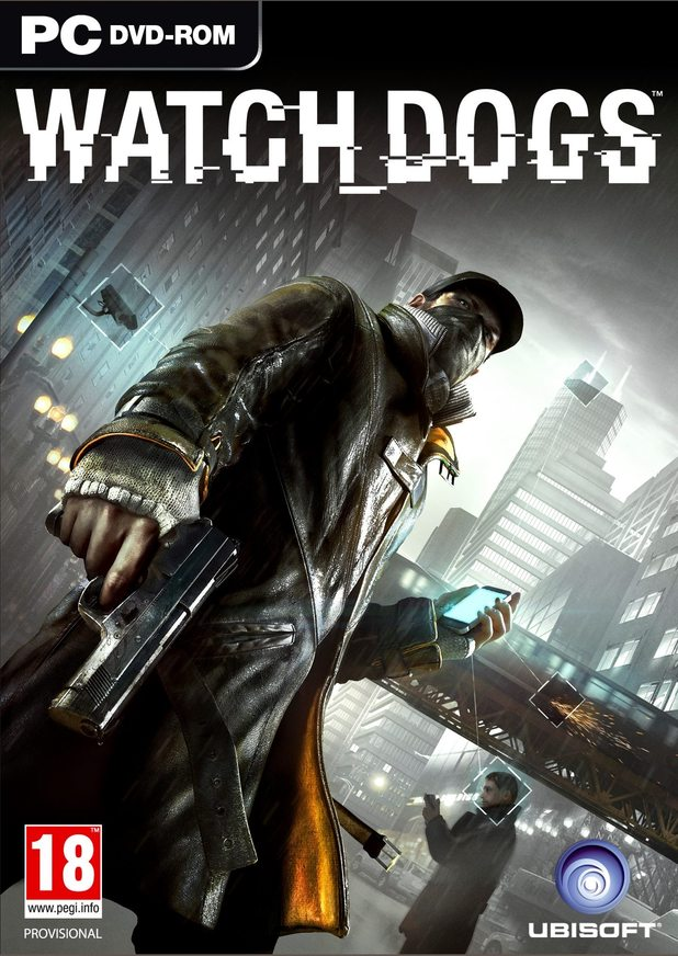 Watch Dogs box artwork