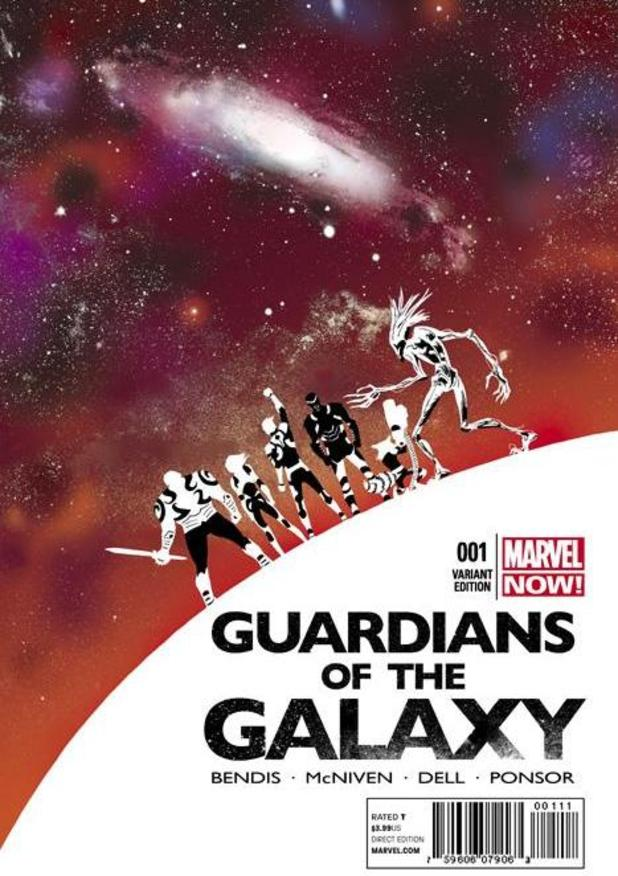 Guardians of the Galaxy #1 variant cover