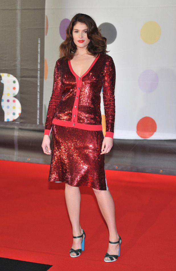 Gemma Arterton, The 2013 Brit Awards