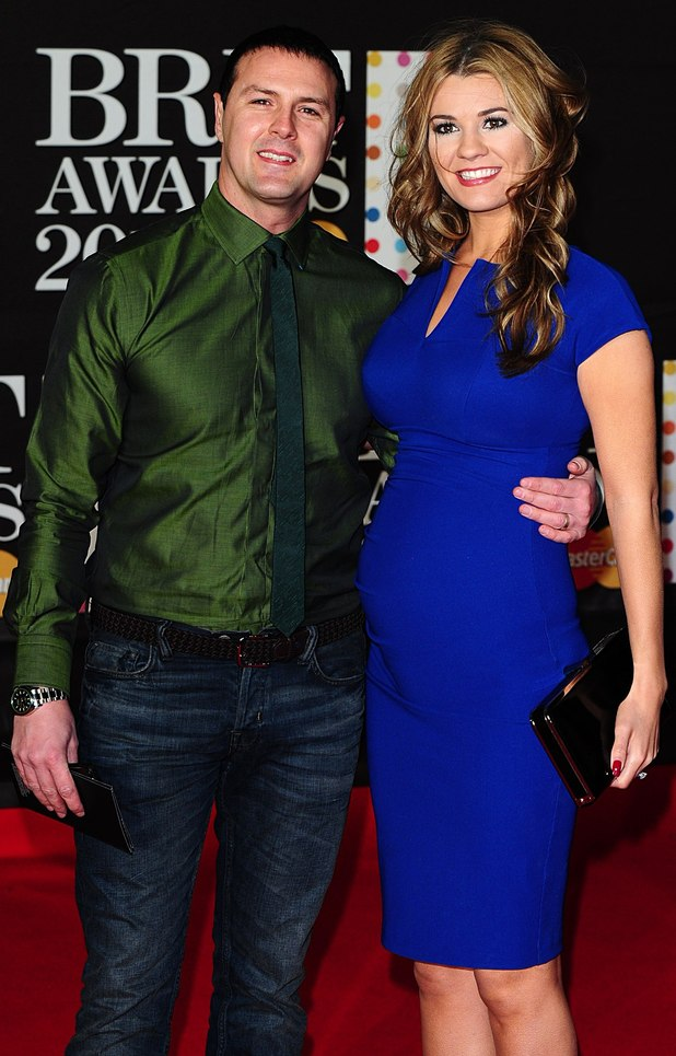 Paddy McGuinness and wife Christine Martin