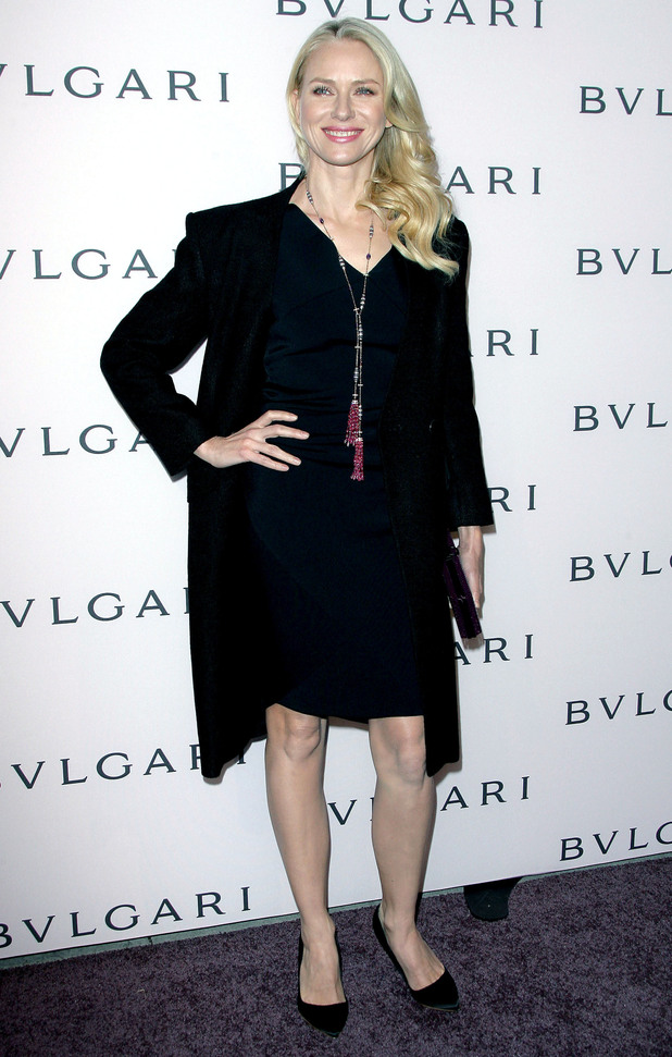 Naomi Watts, BVLGARI, Elizabeth Taylor