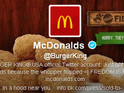 Pranksters take over corporate account and make it look like it belongs to McDonald's.