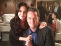 Matthew Perry and Courteney Cox will reunite on screen.