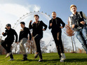 The boyband win the fastest-selling single of 2013 so far with their charity record.