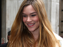 Joss Stone outside the BBC Radio Two studios.