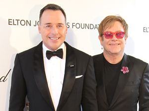 Sir Elton John,David Furnish Where: Los Angeles, CA, United States