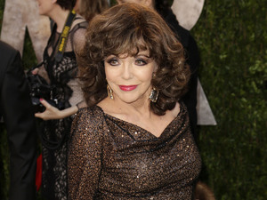 2013 Vanity Fair Oscar Party at Sunset Tower - Arrivals Featuring: Joan Collins