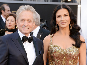 Michael Douglas, Catherine Zeta Jones Oscars 2013