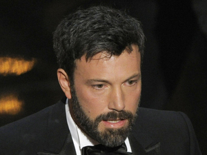 Ben Affleck accepts the 'Best Picture' Oscar for 'Argo' at the 2013 Oscars
