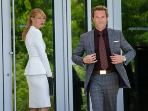 Gwyneth Paltrow and Guy Pearce in 'Iron Man 3'