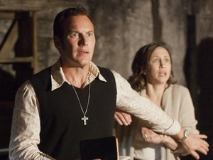 Vera Farmiga (Lorraine Warren) and Patrick Wilson (Ed Warren) in 'The Conjuring'