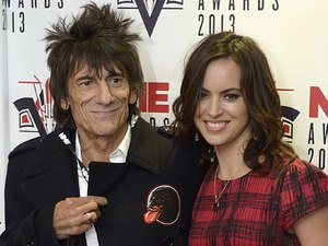 2013 NME Awards: Ronnie Wood and Sally Humphries