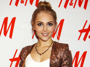 AnnaSophia Robb launches H&M 'Denim Days'.