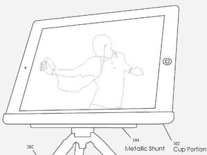 Apple Patent for design for magnetic iPod stand