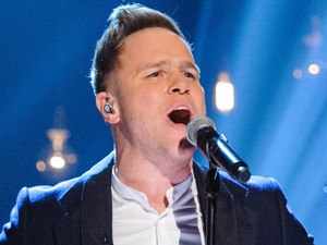 Olly Murs performs live on The Graham Norton Show