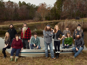 The cast of A&E's 'Duck Dynasty'