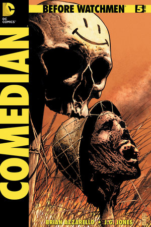 'Before Watchmen: Comedian #5' cover artwork