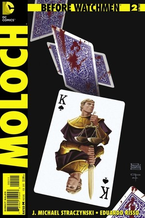 'Before Watchmen: Moloch #2' cover artwork