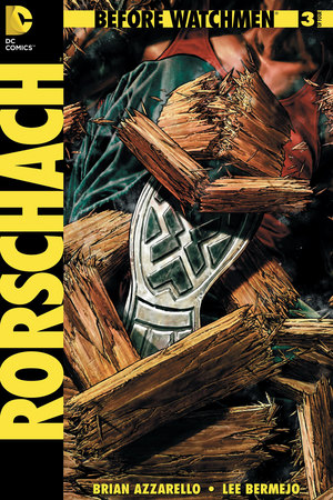 'Before Watchmen: Rorschach #3' cover artwork