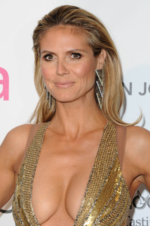 Heidi Klum, 85th Annual Academy Awards Oscars, Elton John AIDS Foundation Party, Los Angeles