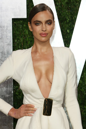 Irina Shayk, 85th Annual Academy Awards Oscars, Vanity Fair Party, Los Angeles