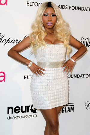 Nicki Minaj, 21st Annual Elton John AIDS Foundations Oscar Viewing Party