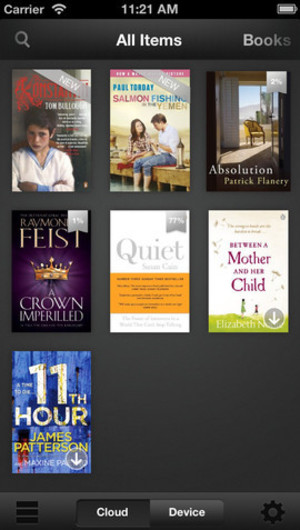 Kindle on iOS