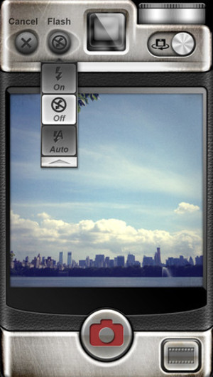 'Vintage Camera' app screenshot