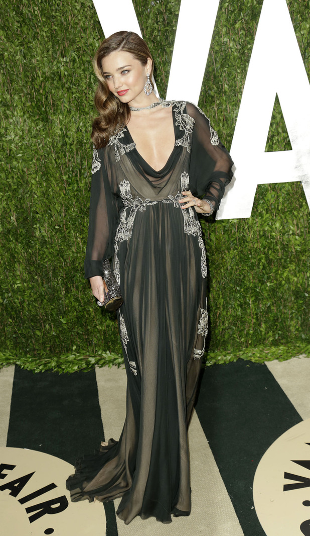 Miranda Kerr, 2013 Vanity Fair Oscar Party