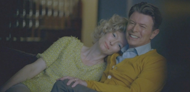 David Bowie and Tilda Swinton in 'The Stars Are Out Tonight' music video