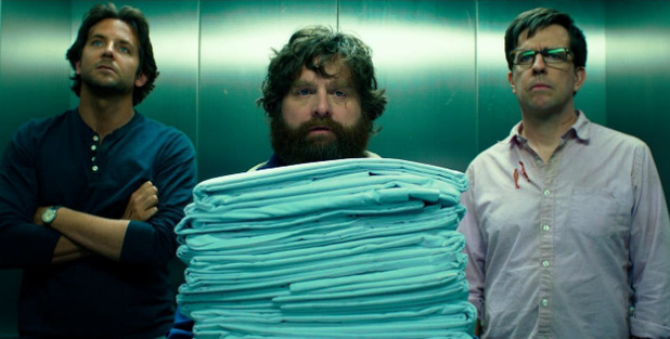 Bradley Cooper, Zach Galifianakis and Ed Helms in &#39;The Hangover Part 3&#39;