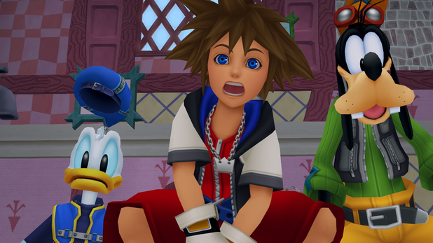 &#39;Kingdom Hearts HD 1.5 Remix&#39; screenshot