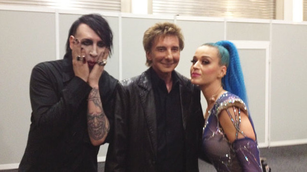 Marilyn Manson, Barry Manilow, Katy Perry, twitter