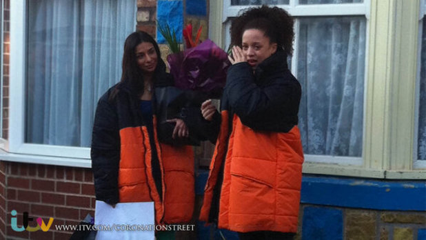 Natalie Gumede, Shobna Gulati shoot last Corrie scenes
