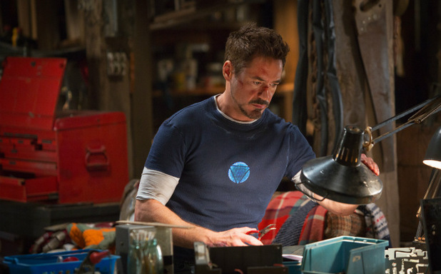 Robert Downey Jr in 'Iron Man 3'