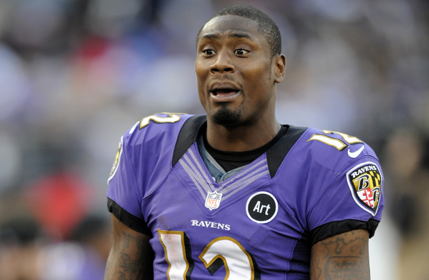 Baltimore Ravens wide receiver Jacoby Jones