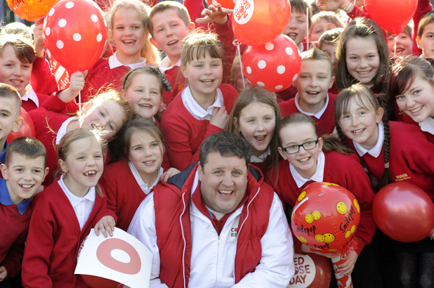 Peter Kay Sit Down for Comic Relief campaign