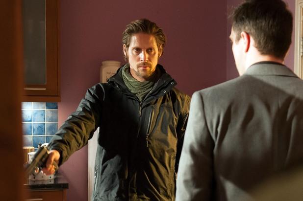 Brendan finds Seamus tied up-walking straight into Walker's trap.