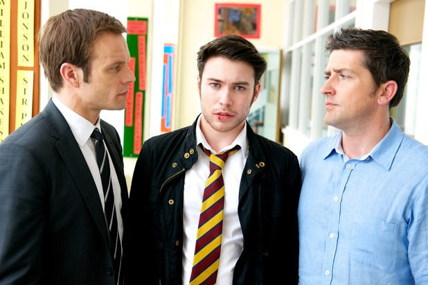 Michael Byrne, Barry Barry and Tom Clarkson in Waterloo Road