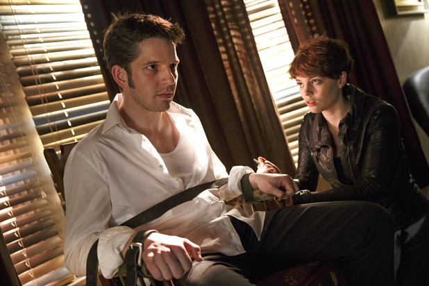Being Human S05E05: 'No Care, All Responsibility' - Hal (Damien Molony) & Alex (Kate Bracken)