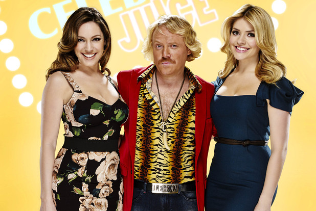 Celebrity Juice: Kelly Brook, Keith Lemon and Holly Willoughby