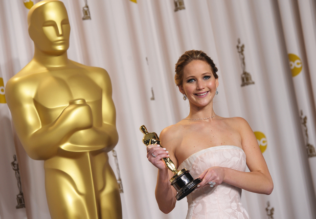 Jennifer Lawrence wins Oscar