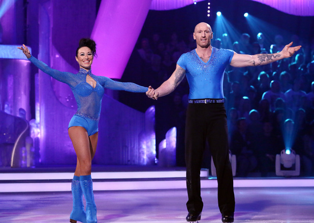 Gareth Thomas on Dancing On Ice 3 March 2013