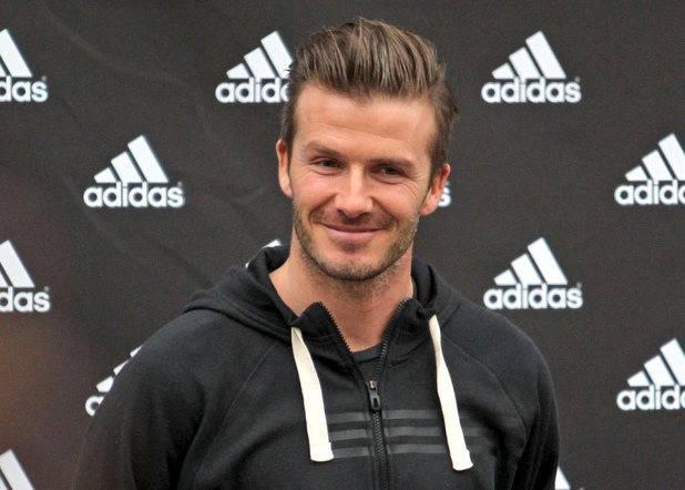 David Beckham, in-store appearance at Adidas Store, Paris