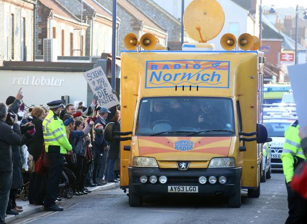 A Radio Norwich van