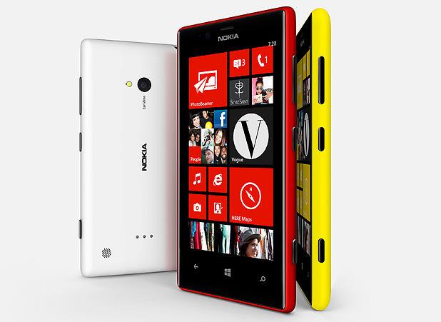 Nokia Lumia 720 smartphone