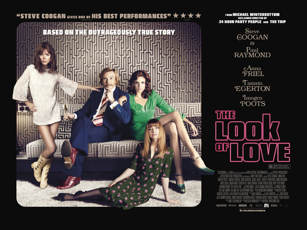 The Look of Love poster, Steven Coogan